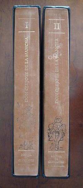 2004 El Quijote, Cervantes, ilustrado por Mingote, Planeta lujo