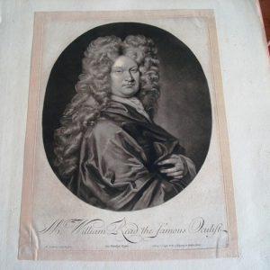 Grabados originales de los siglos XVII y XVIII de retratos de personalidades europeas