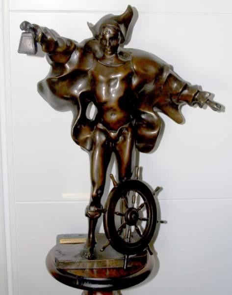 Escultura Cristoforo Colombo, Ugo Attardi