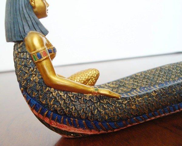 Soporte para barrita de sándalo figura extendida diosa Isis