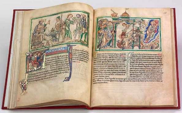 Apocalipsis de París, c. 1250