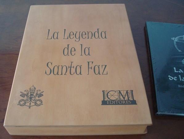 La Leyenda de la Santa Faz, Códice Palatino Latino 1988
