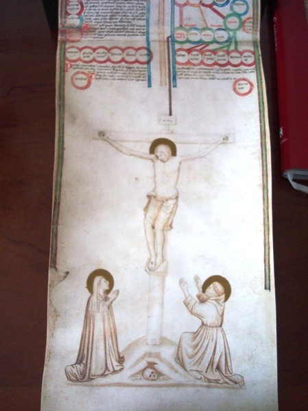 Genealogía de Cristo, Genealogia Christi, Biblioteca Casanatense, Roma, s. XIV