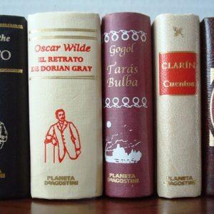 Lote 5 libritos, tapa dura, obras literarias