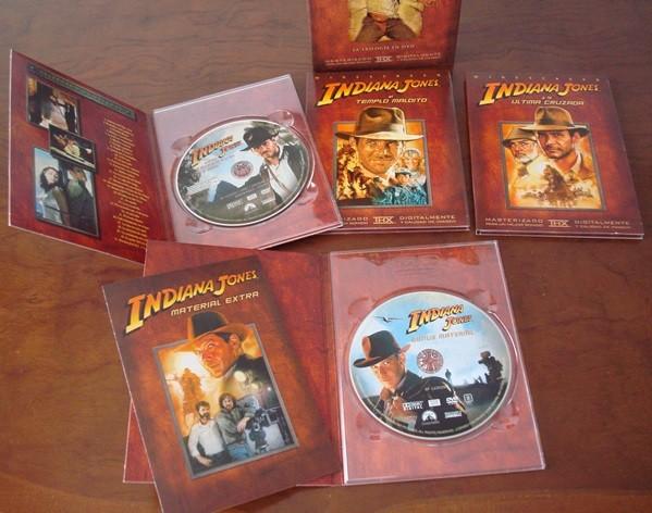 Las aventuras de Indiana Jones, la trilogía en DVD
