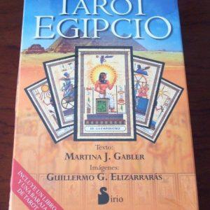 El Tarot Egipcio, libro y baraja