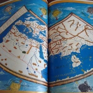 1475 Atlas y Cosmografía de Claudio Ptolomeo