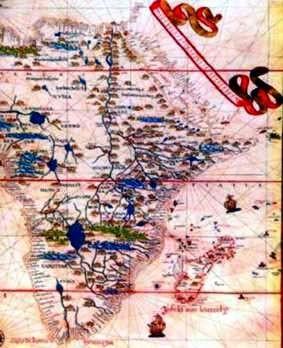 1587 Atlas de Joan Martines