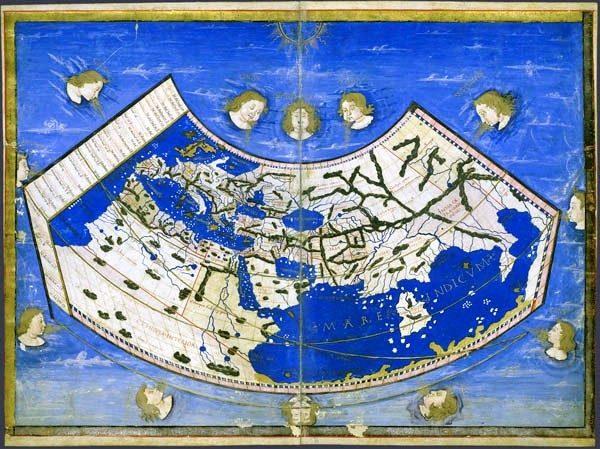 1466 Cosmographia de Ptolomeo, Atlas Borso d'Este