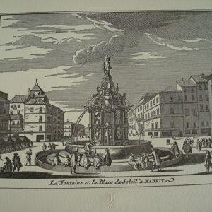 Madrid y sus alrededores, grabados de Luis Meunier, 1630