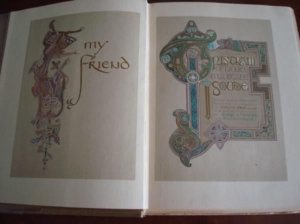 Tristram & Isoude, c. 1920 (il. Evelyn Paul)