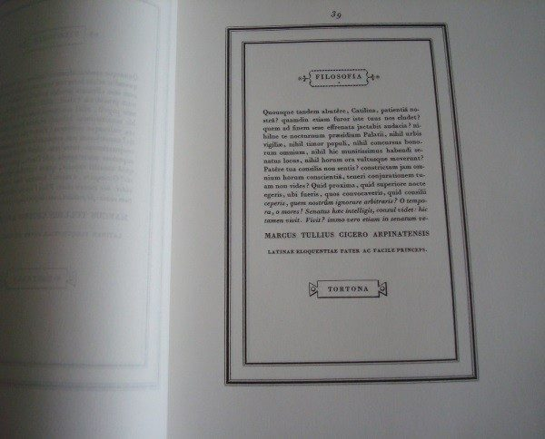 Manuale Tipografico, Giambattista Bodoni
