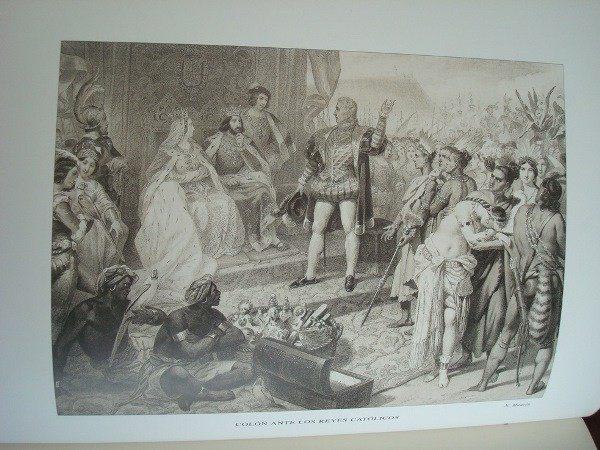 Diario de Colón. Libro de la primera navegación... s. XVI