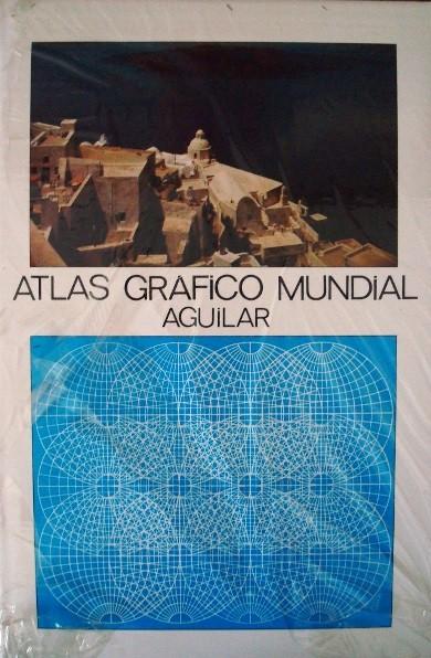 Atlas Gráfico Mundial, Aguilar, 1981, nuevo