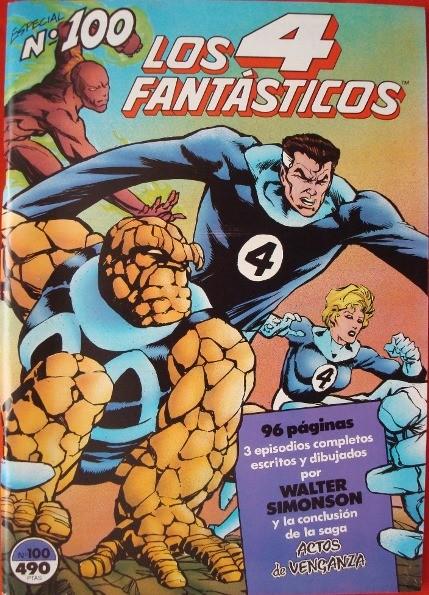 Los 4 Fantásticos, nº 100, especial de 1991