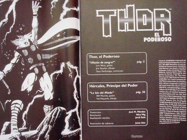 Thor y Hércules, 2 historias independientes, 1999