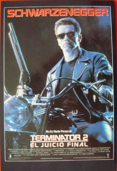 Terminator 2, versión oficial de la película de 1991