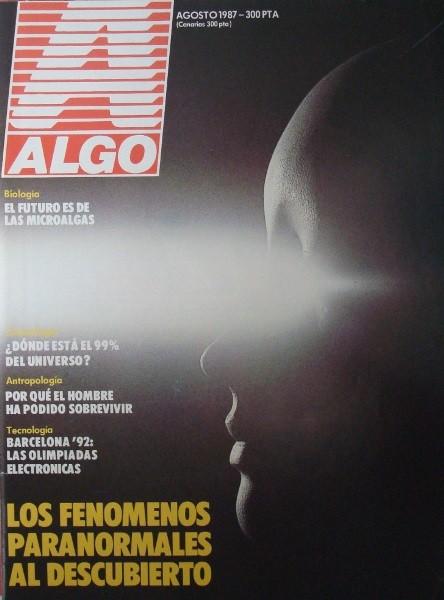 Revistas ALGO año 1987 completo, sueltas