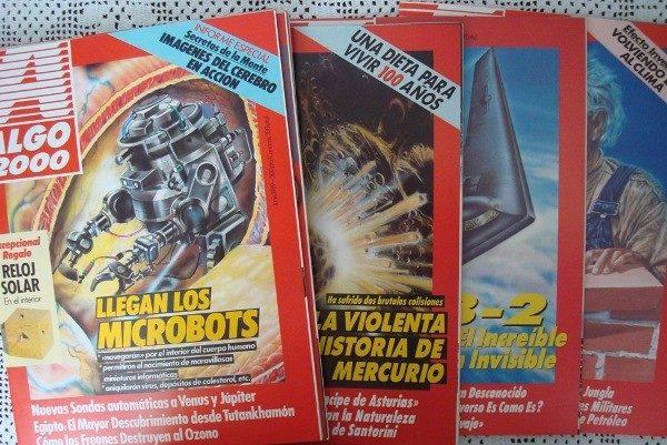Revistas ALGO 2000, año 1989 completo, sueltas