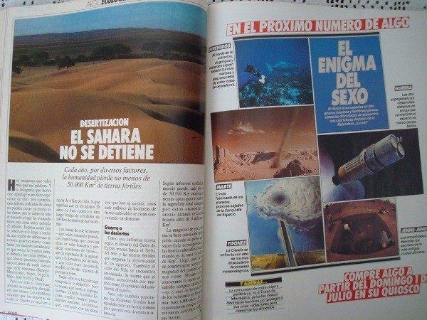 Revistas ALGO año 1984 completo, en libro
