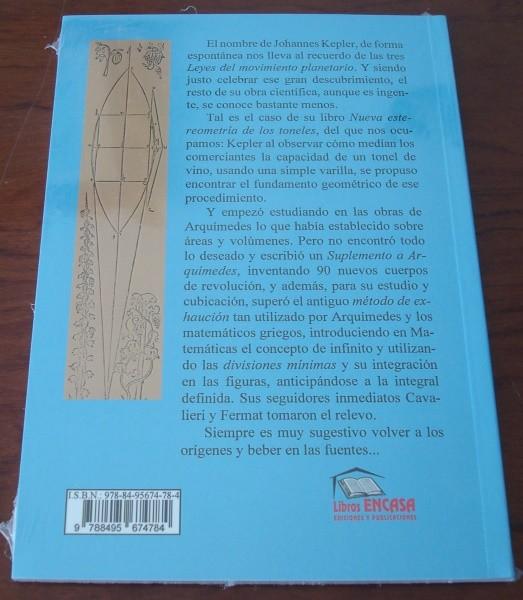 Kepler continuador de Arquímedes, por Nicolás García Herrera