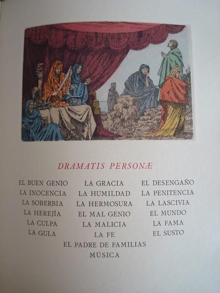 El gran mercado del mundo, Calderón de la Barca. Il. R. Capmany. 1960