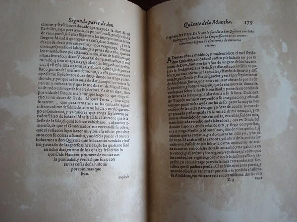 1981 Don Quijote. Cervantes. Facsímile ediciones príncipes