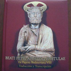 Libro estudio del Papiro Bodmer VIII, Epístolas de San Pedro, s. III y IV