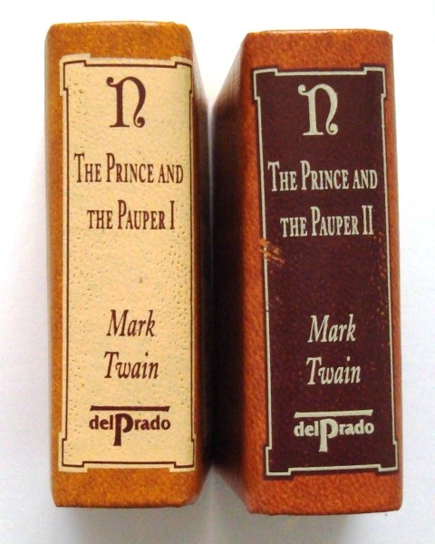 The Prince and the Pauper, Mark Twain (2 mini libros)