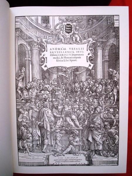 De Humani Corporis Fabrica, Andrea Vesalio, 1555