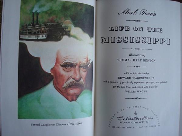 Life on the Mississippi. Mark Twain. 1972 (en inglés)