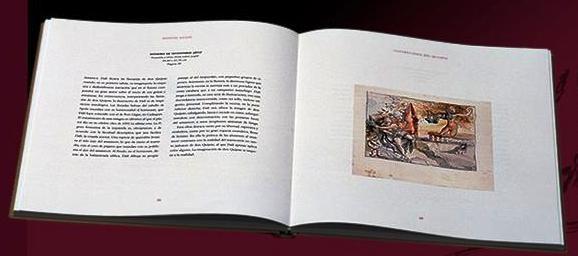 El Quijote ilustrado por Salvador Dalí, edición bibliófilo IV Centenario