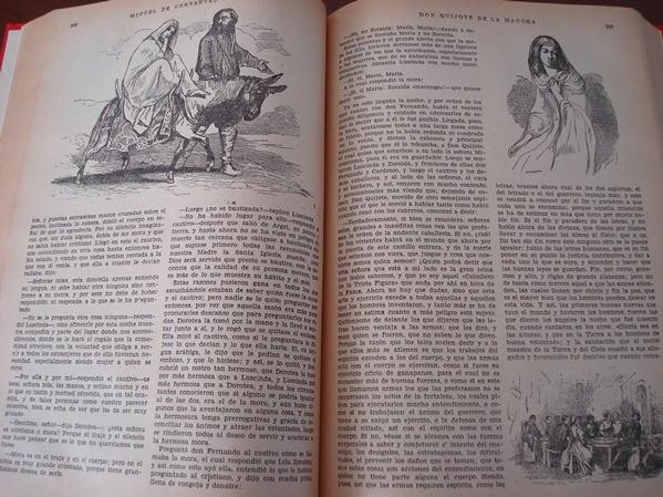1951 El Quijote, edición muy ilustrada