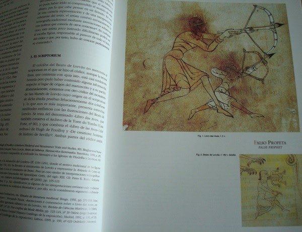 Libro estudio del Beato de Liébana códice de Lorvao