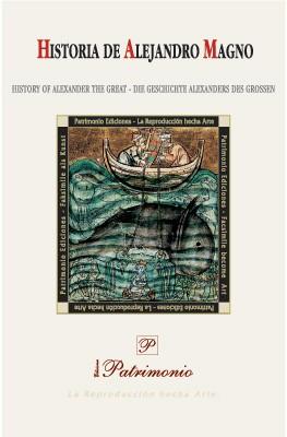 Libro estudio de la Historia de Alejandro Magno, s. XIII