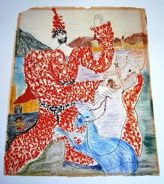 Dibujos de Federico García Lorca, entre 1926 y 1932
