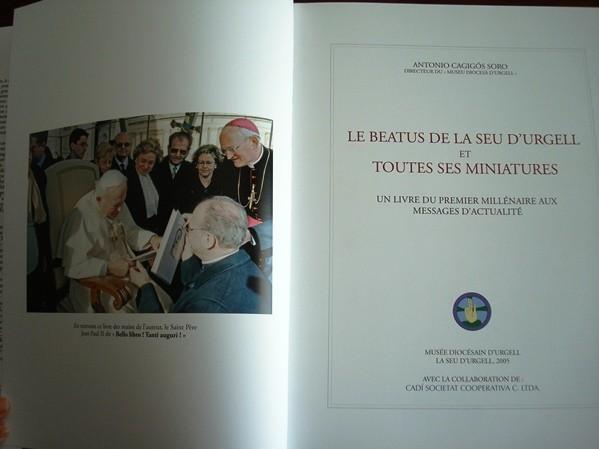 Le Beatus de la Seu d'Urgell et toutes ses miniatures