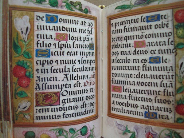 Libro de Horas de Mencía de Mendoza, s. XVI (mini libro)