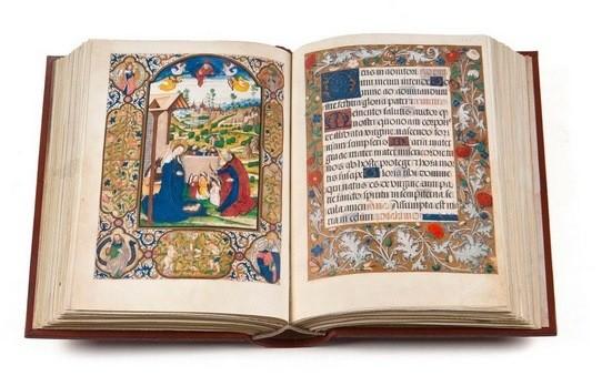 Libro de Horas de los Zúñiga, s. XV