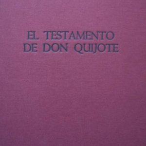"""François Maréchal: El Testamento de Don Quijote, 46 de """"Tiempo para la Alegría"""". 1987"""