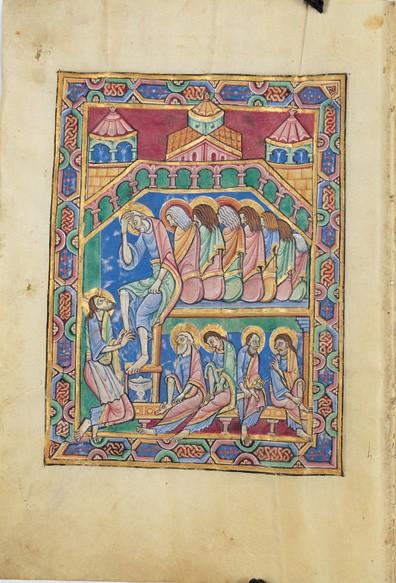 Salterio de San Albans, s. XII