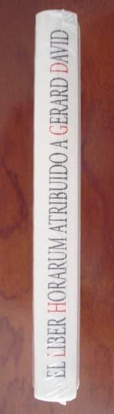 Libro estudio Liber Horarum atribuido a Gerard David, año 1486