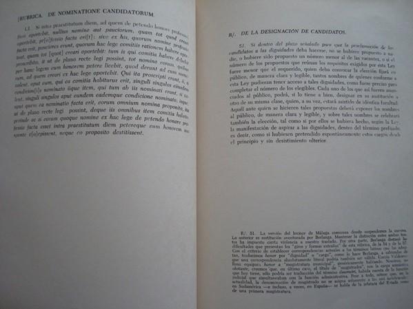 Lex Flavia Malacitana, Málaga, 1972