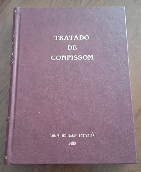 1489 Tratado de Confissom (primer incunable portugués)