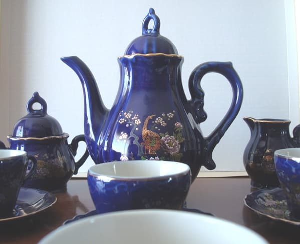 Juego de café porcelana japonesa Eiho