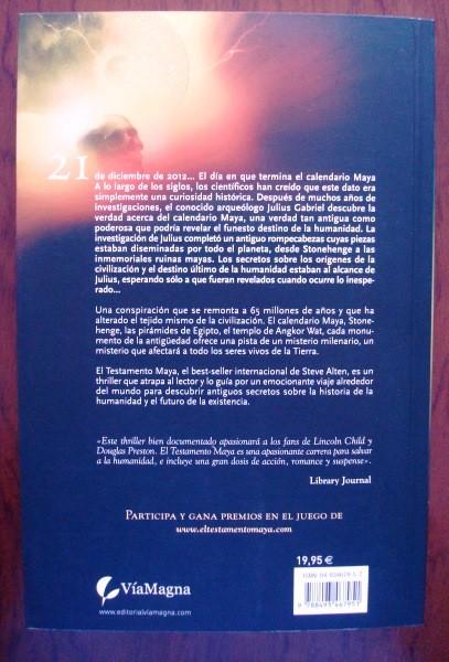 El testamento maya, Steve Alten, 2007