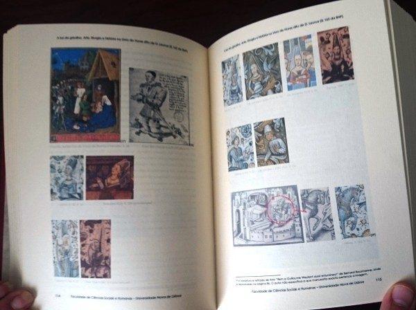Libro estudio del Libro de Horas de Leonor de Portugal (en portugués)