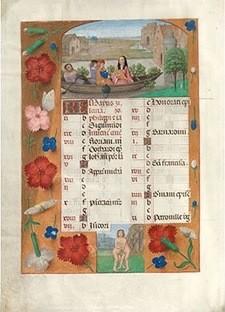 Libro de Horas de Horenbout, s. XVI