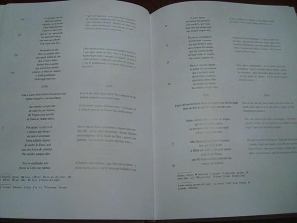 Libros estudio de las Cantigas de Santa María (edición 2011)