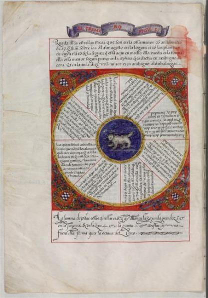 La Octava Esfera. Primer Libro Del Saber de Astronomía de Alfonso X el Sabio, c. 1560